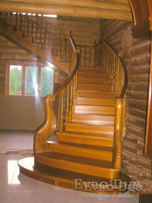 Лестницы на второй этаж в частном доме фото в Москве
